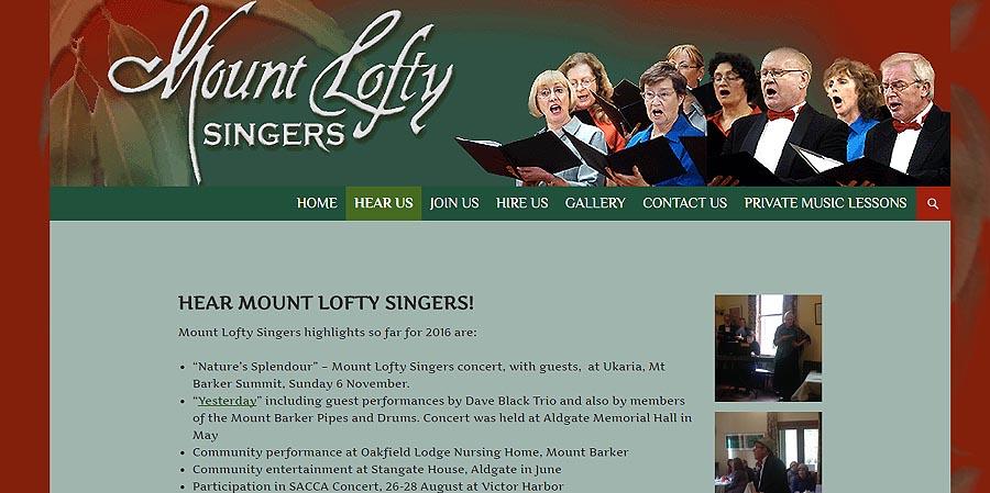 Mount Lofty Singers