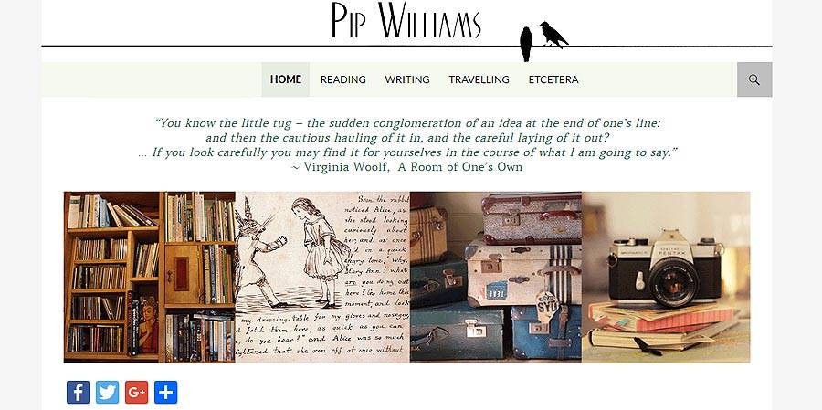 Pip Williams - writer and reviewer
